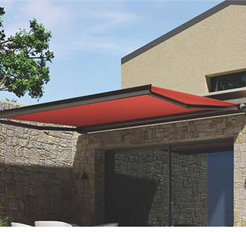 The SHAN System Folding Arm Awnings
