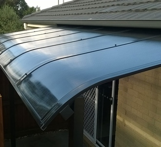 Carbolite Bullnose Awning