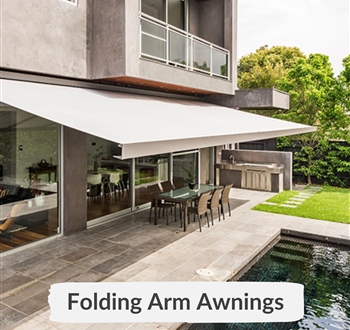 All about Folding arm Awnings